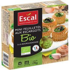 Escal Mini feuilleté aux escargots bio 170g