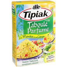 TIPIAK Préparation pour taboulé parfumé à la menthe et au citron 350g