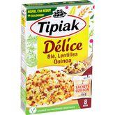 Tipiak délice de blé lentilles sachet x2 -330g