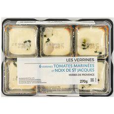 MIX BUFFET Mix Buffet Verrines tomates et noix de st Jacques 6x45g 6x45g