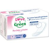Love & Green serviette nuit incontinence x12