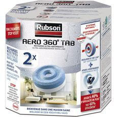 RUBSON Rubson Recharges ultra absorbantes pour absorbeur d'humidité x2 2 pièces