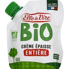 ELLE ET VIRE Crème entière épaisse bio 33cl