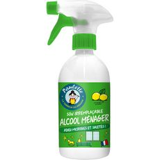 Paulette Spray nettoyant alcool ménager au citron 500ml
