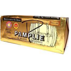 PAMPLIE Beurre extra fin doux AOP 250G