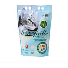TRANQUILLE Litière silice cristale prévention pour chat mature 4l