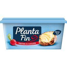 PLANTA FIN Margarine demi-sel pour tartine et cuisson 510g