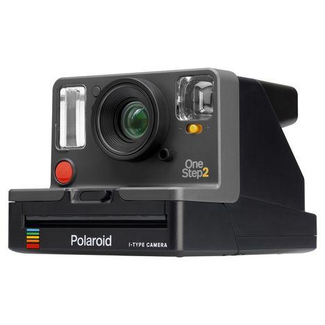 POLAROID Appareil photo instantané - One Step 2 Graphique + 8 films i-Type + 8 films Gold Color 600