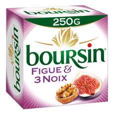BOURSIN BOURSIN Fromage à tartiner aux figues et aux 3 noix 250g 250g