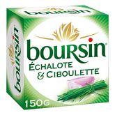 Boursin BOURSIN Fromage à tartiner à l'échalote et ciboulette 150g