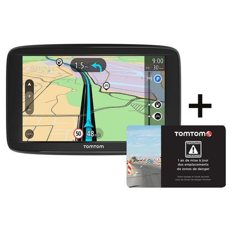 TOM TOM GPS - Start 62 + Zones de danger