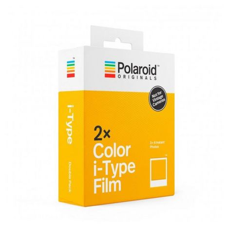POLAROID Papier photo instantané I-Type Double Pack 16 feuilles