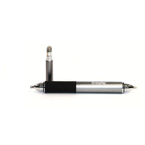 XTREMEMAC Stylet 3 en 1 : stylo bille 0.5 mm, stylo tactile à maille et stylo à disque