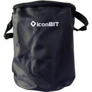 ICONBIT Sacoche pour vélo/trottinette - Noir