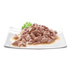 SHEBA Sachets repas mini filets pâtée en sauce poissons pour chat 12x85g