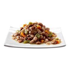 SHEBA Barquettes pâtée en sauce viandes poissons légumes pour chat 12x85g