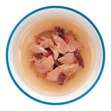 SHEBA Sachets repas classic soup aux filets de thon pour chat 4x40g