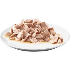 SHEBA Sachets repas délices du jour pâtée en sauce volaille pour chat 6x50g