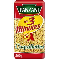 PANZANI Coquillettes cuisson rapide 3min 500g