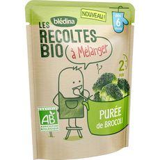 Blédina Purée de brocoli bio à mélanger dès 6 mois 120g