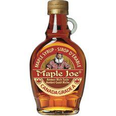 MAPLE JOE Sirop d'érable ambré goût riche 250g