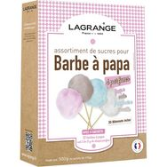 LAGRANGE Assortiment sucres Barbapapa 4 Parfums - 380000