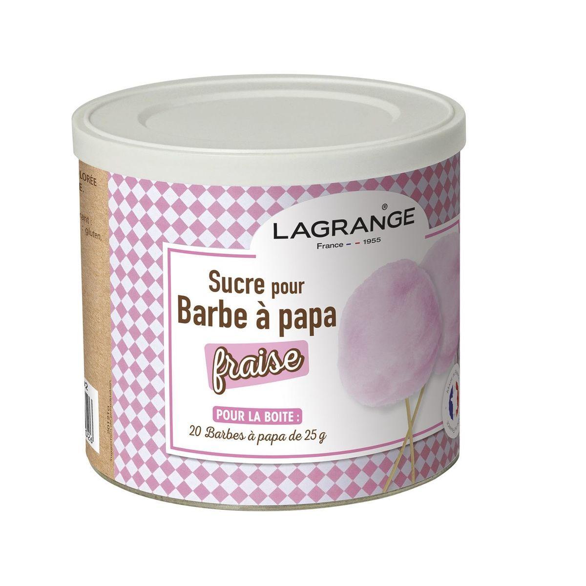 Sucre à Barbe à Papa - parfum fraise - 380007