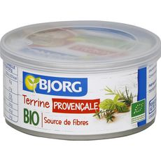 Bjorg Terrine provençale bio veggie 125g
