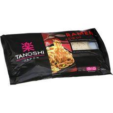 TANOSHI Ramen nouilles asiatiques précuites saveur bœuf 360g