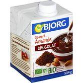 Bjorg Bjorg dessert amande chocolat bio 50cl