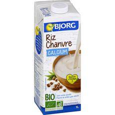 BJORG Bjorg riz chanvre calcium bio 1l 1l