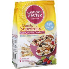 GAYELORD HAUSER Gayelord Hauser Muesli superfruits sans sucres ajoutés 350g 350g