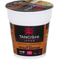 TANOSHI Nouilles japonaises instantanées saveur poulet shiitaké 65g