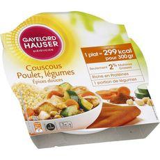 GAYELORD HAUSER Couscous poulet légumes aux épices douces 300g