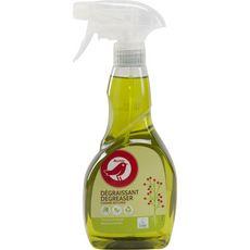 AUCHAN Spray dégraissant écologique pour la cuisine 500ml