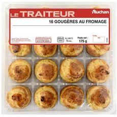 Auchan le Traiteur Gougères au fromage 175g