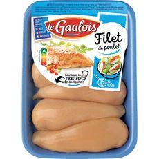 LE GAULOIS Filets de poulet jaune 720g