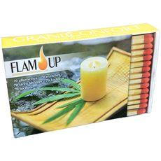 FLAM'UP Allumettes grand confort  70 pièces