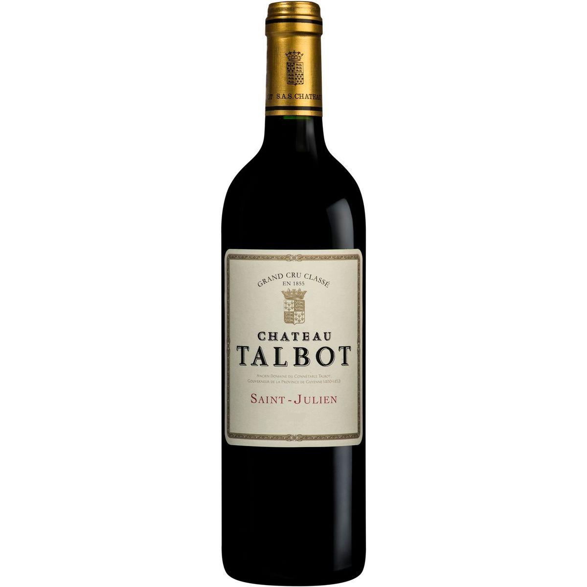AOP Saint-Julien Château Talbot 2017 Second Vin rouge 75cl