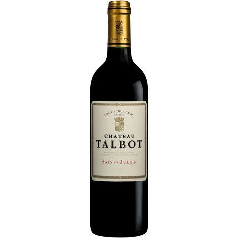 SANS MARQUE AOP Saint-Julien Château Talbot 2017 Second Vin rouge 75cl