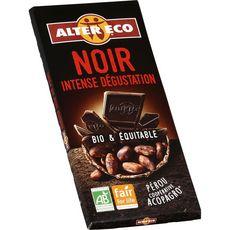 Alter Eco Tablette de chocolat noir intense dégustation bio 100g