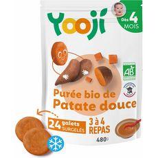 Yooji Galets de purée de patates douces bio dès 4 mois 24x20g