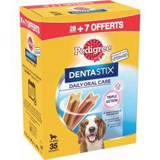 PEDIGREE Pedrigree Dentastix chien 10 à 25kg 28 +7 bâtonnets offerts 900g 28 +7 bâtonnets offerts 900g