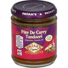 PATAK'S Patak's Pâte de curry: tandoori gingembre tamarin ail - doux 170g 170g
