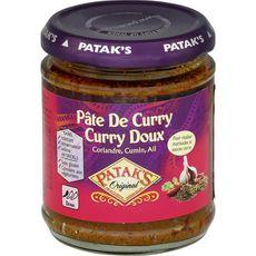 PATAK'S Pâte de curry doux 165g