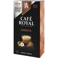 Café Royal Café à la noisette en capsule compatible Nespresso 50g