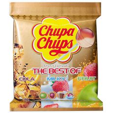 Chupa Chups the best of sachet 192g