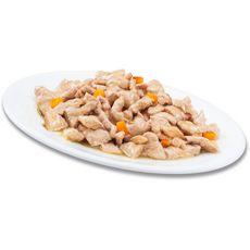 PERFECT FIT Adult sachets repas pâtée poissons pour chat stérilisé 4x85g