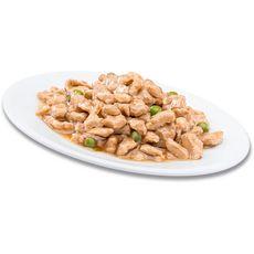 PERFECT FIT Indoor sachets pâtée poulet saumon pour chat stérilisé 4x85g