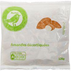 Auchan essentiel Amandes décortiquées 125g